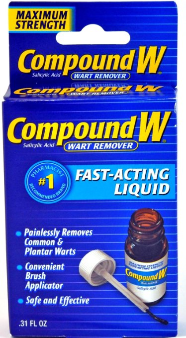 Compound W Fast Acting Liquid Wart Remover