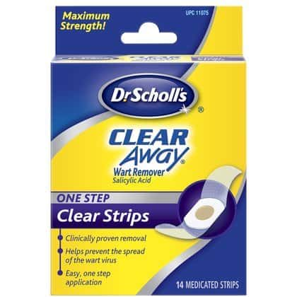 Dr Scholls Clear Away One Step Wart Remover