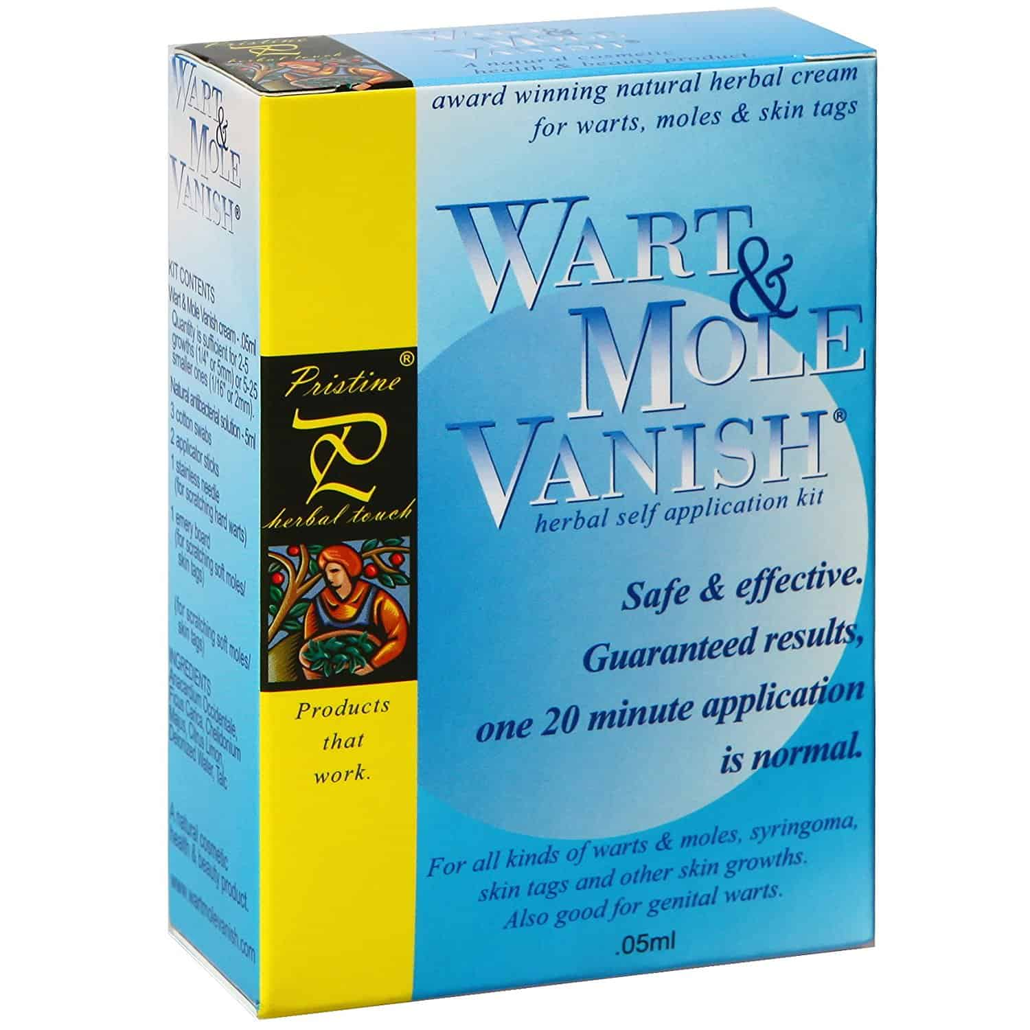 Wart Mole Vanish Kit for skin tags